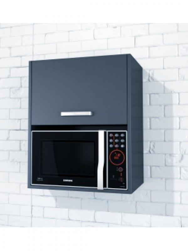 Microwave Cabinet With Door Kitset Kitchen